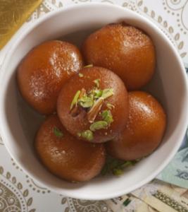 Gulab Jamun will contain ghee
