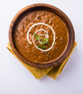 Dhal with cream and ghee