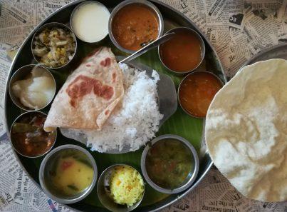 Southern Indian Thali