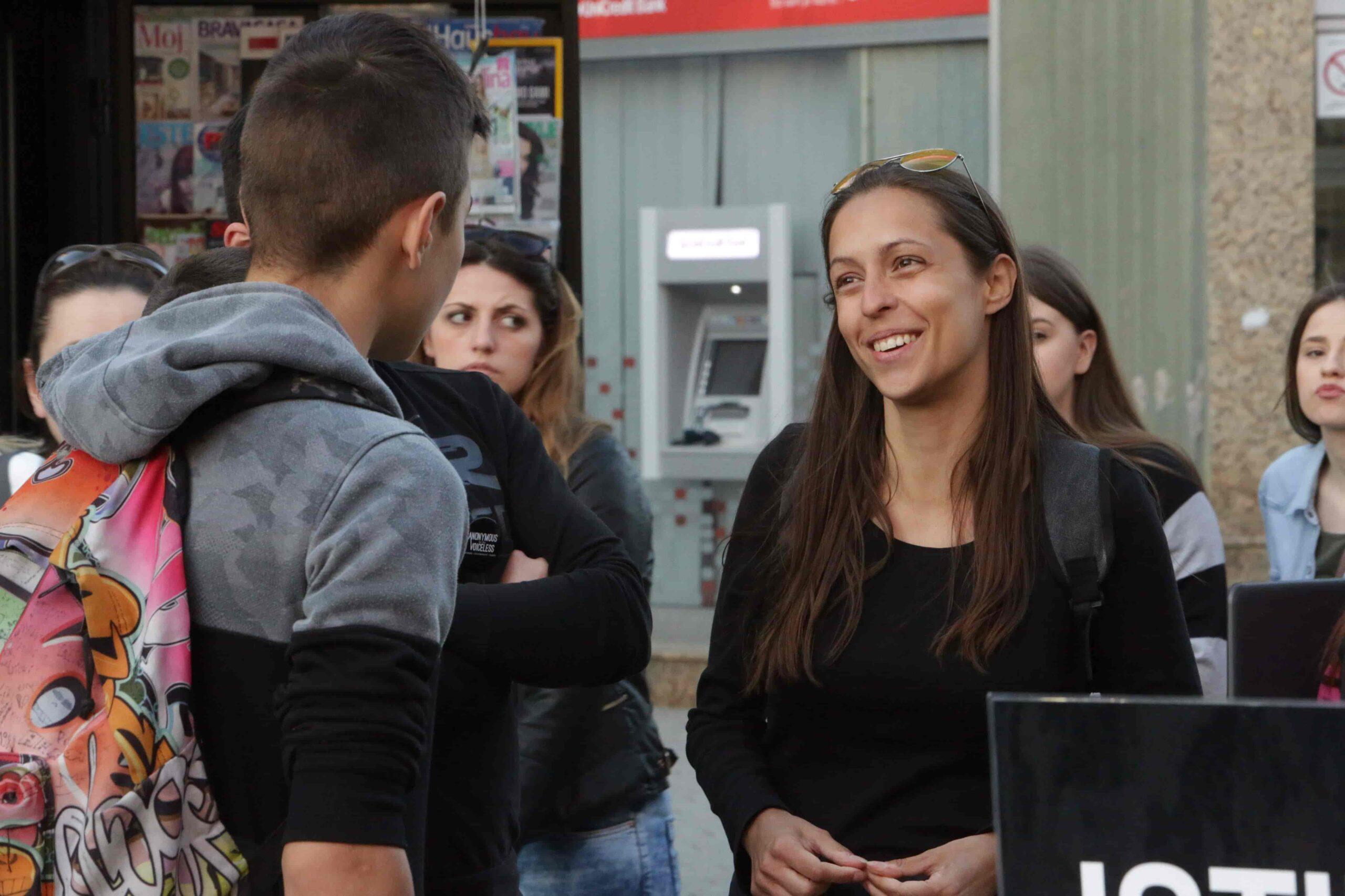 Ivana founder of Serbian vegan community Veganizmija