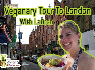 Vegan tour to London england